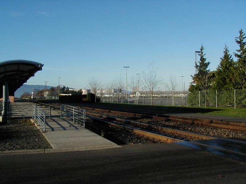 platform and tracks