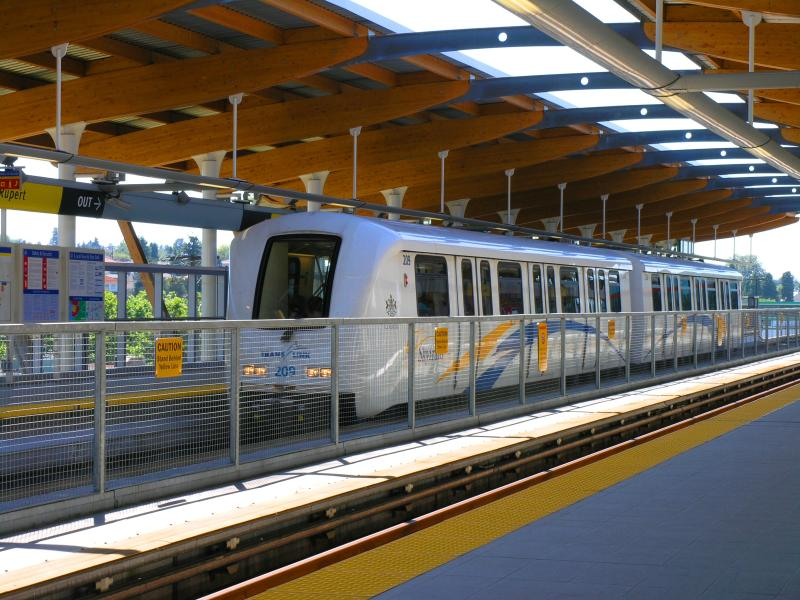 Vancouver BC SkyTrain
